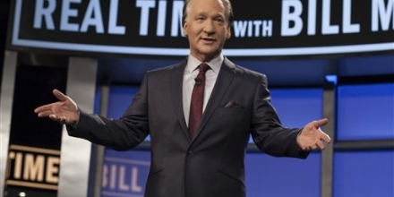 In this photo provided by HBO, Bill Maher hosts the season premiere of