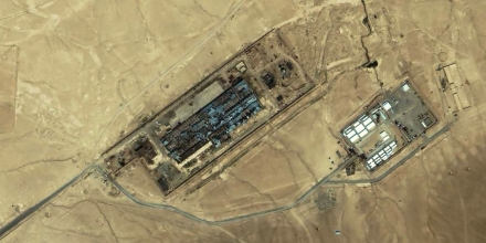 Image #: 1652571    An IKONOS satellite image of a facility near Kabul, Afghanistan taken on July 17, 2003. A Washington Post on November 2, 2005 refers to this facility as the largest CIA covert prison in Afghanistan, code-named the Salt Pit.    REUTERS/Space Imaging Middle East/HO /Landov