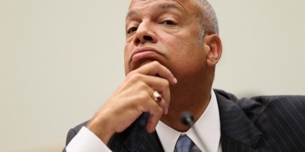 WASHINGTON, DC - JULY 14:  U.S. Homeland Security Secretary Jeh Johnson testifies before the House Judiciary Committee about oversight of the department July 14, 2015 in Washington, DC. Johnson was repeatedly asked about the murder of Kate Steinle who was shot and killed in San Francisco alegedly by 45-year-old Juan Francisco Lopez-Sanchez, an undocumented immigrant, a repeat felon who has been deported five times to Mexico.  (Photo by Chip Somodevilla/Getty Images)