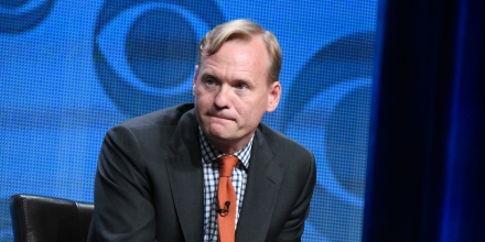 Political Director for CBS News, John Dickerson, participates in the CBS News panel at the CBS Summer TCA Tour at the Beverly Hilton Hotel on Monday, Aug. 10, 2015, in Beverly Hills, Calif. (Photo by Richard Shotwell/Invision/AP)