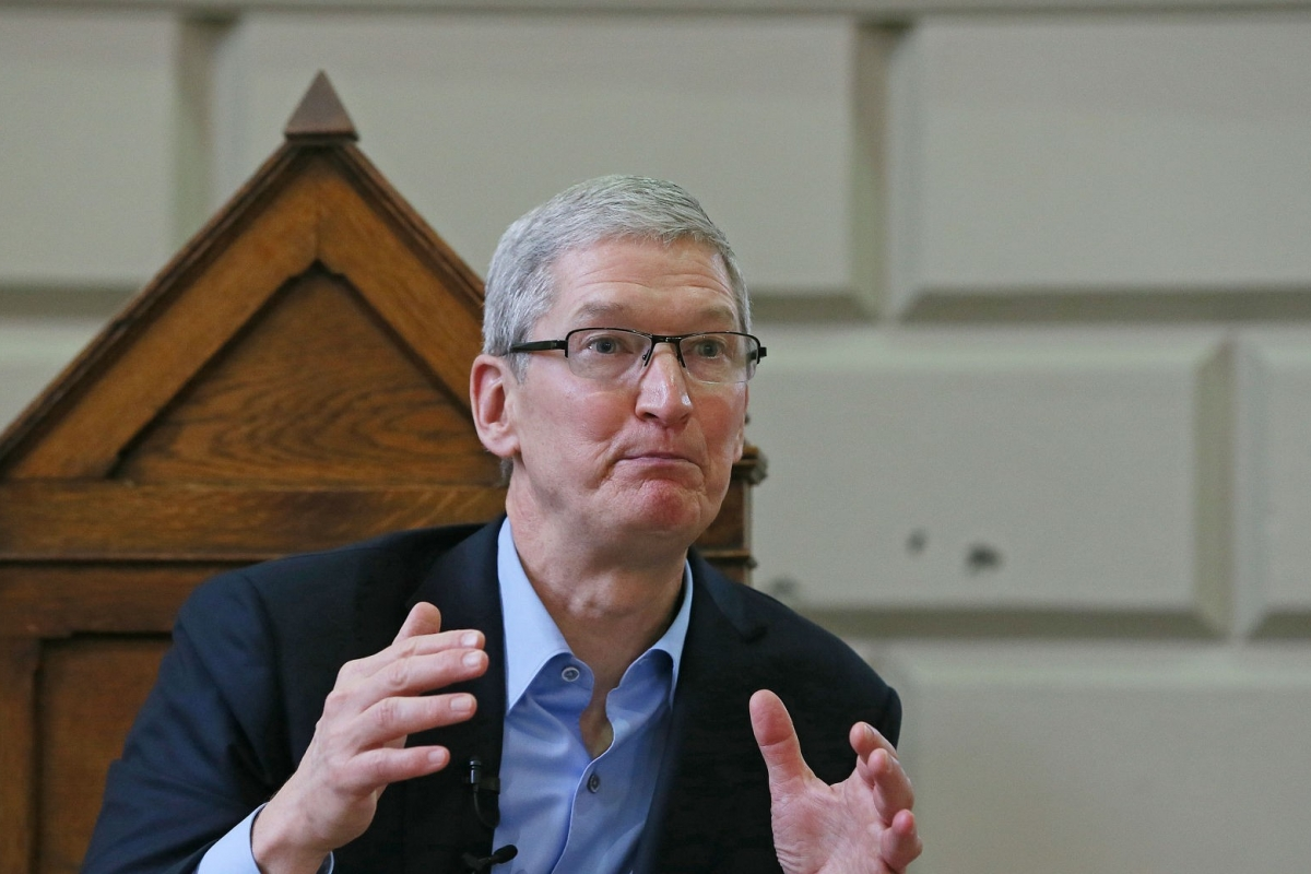 Thrilled by the response apple ceo tim cook said in a tweet that it - Apple S Tim Cook Lashes Out At White House Officials For Being Wishy Washy On Encryption