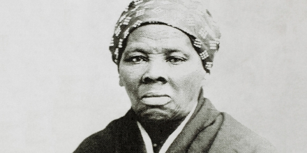 Harriet Tubman (1820-1913), American Abolitionist, Portrait, circa 1885. (Photo by: Universal History Archive/UIG via Getty Images)