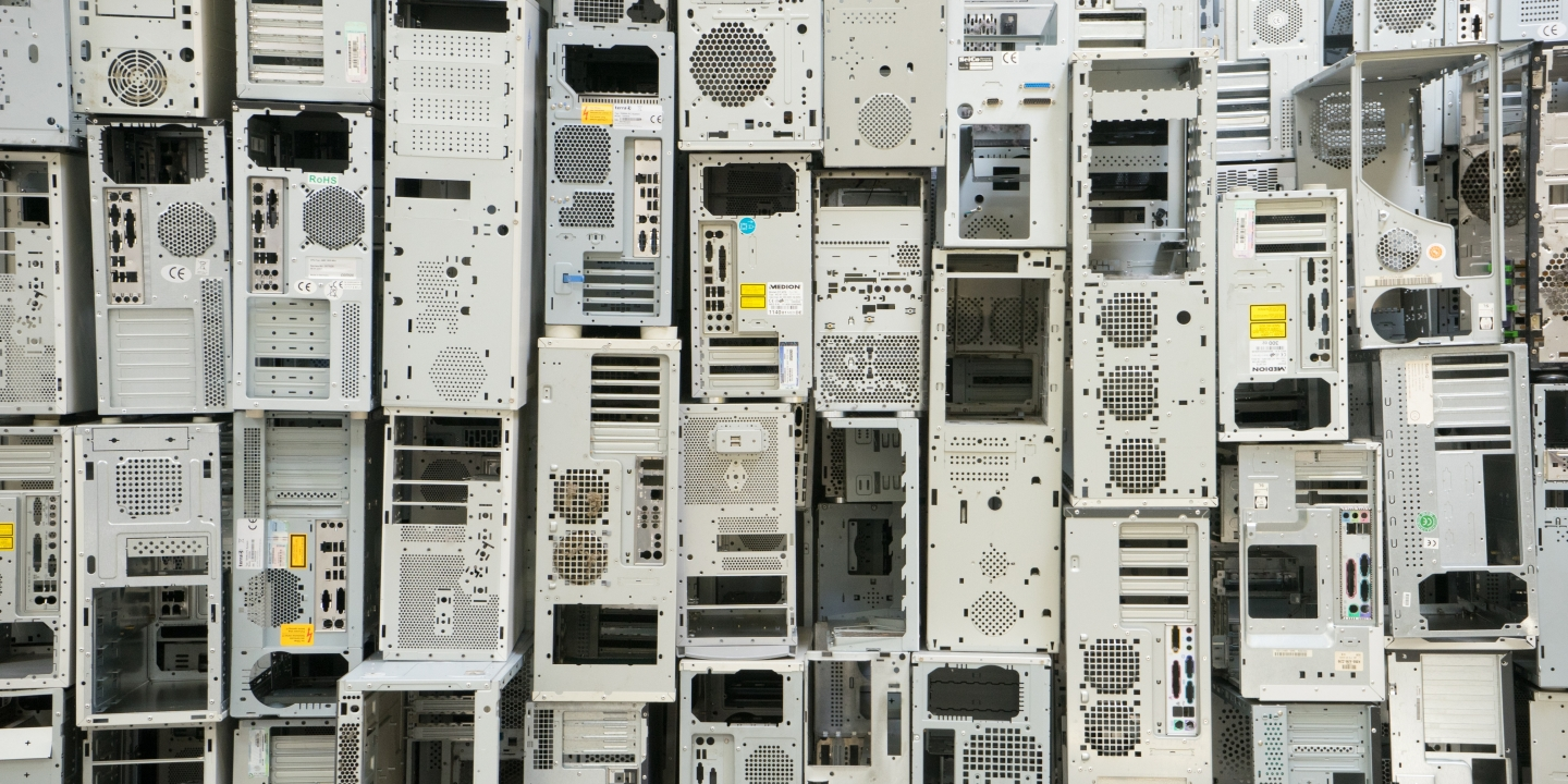 Gps tracking devices catch major us recyclers exporting toxic e old computer cases stacked 1betcityfo Gallery