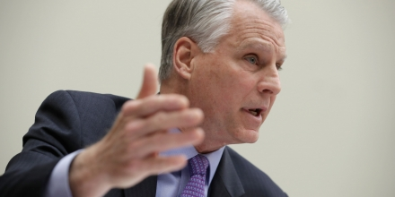 WASHINGTON, DC - MAY 24:  Former congressman and 9/11 Commissioner Tim Roemer (D-IN) testifies before the House Foreign Affairs Committee's Terrorism, Nonproliferation, and Trade Subcommittee holds a hearing on the U.S.-Saudi Arabia counterterrorism relationship in the Rayburn House Office Building on Capitol Hill May 24, 2016 in Washington, DC. Roemer and all of his fellow witnesses said they support the declassification of 28 pages of a 838-page congressional report on the 9/11 attacks but warn caution in passing a bill exposing Saudi Arabia to 9/11 legal claims.  (Photo by Chip Somodevilla/Getty Images)