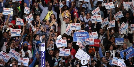 PHILADELPHIA, PA - JULY 26: The California delegation casts their votes during roll call on the second day of the Democratic National Convention at the Wells Fargo Center, July 26, 2016 in Philadelphia, Pennsylvania. An estimated 50,000 people are expected in Philadelphia, including hundreds of protesters and members of the media. The four-day Democratic National Convention kicked off July 25. (Photo by Alex Wong/Getty Images)