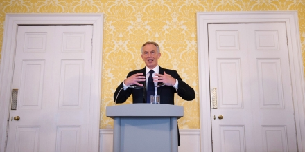 "Chilcot Iraq inquiry. Former Prime Minister Tony Blair holds a press conference at Admiralty House, London, where responding to the Chilcot report he said: ""I express more sorrow, regret and apology than you may ever know or can believe."" Picture date: Wednesday July 6, 2016. Mr Blair said that the report contained ""serious criticisms"" but showed that ""there were no lies, Parliament and the Cabinet were not misled, there was no secret commitment to war, intelligence was not falsified and the decision was made in good faith"". See PA story POLITICS Chilcot Blair. Photo credit should read: Stefan Rousseau/PA Wire URN:28013831"