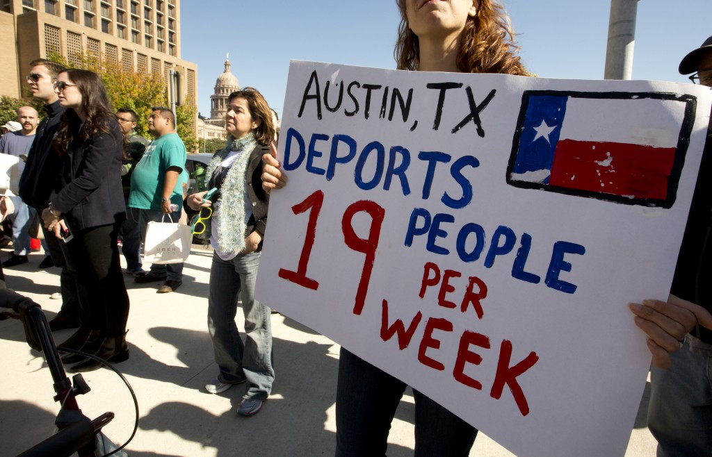 Pro-immigration march