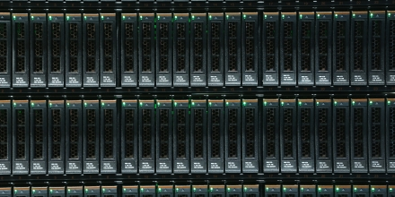 HANOVER, GERMANY - MARCH 16:  Units for storing digital data lie plugged into an IBM System Storage DS8870 mainframe at the 2015 CeBIT technology trade fair on March 16, 2015 in Hanover, Germany. China is this year's CeBIT partner. CeBIT is the world's largest tech fair and will be open from March 16 through March 20.  (Photo by Sean Gallup/Getty Images)
