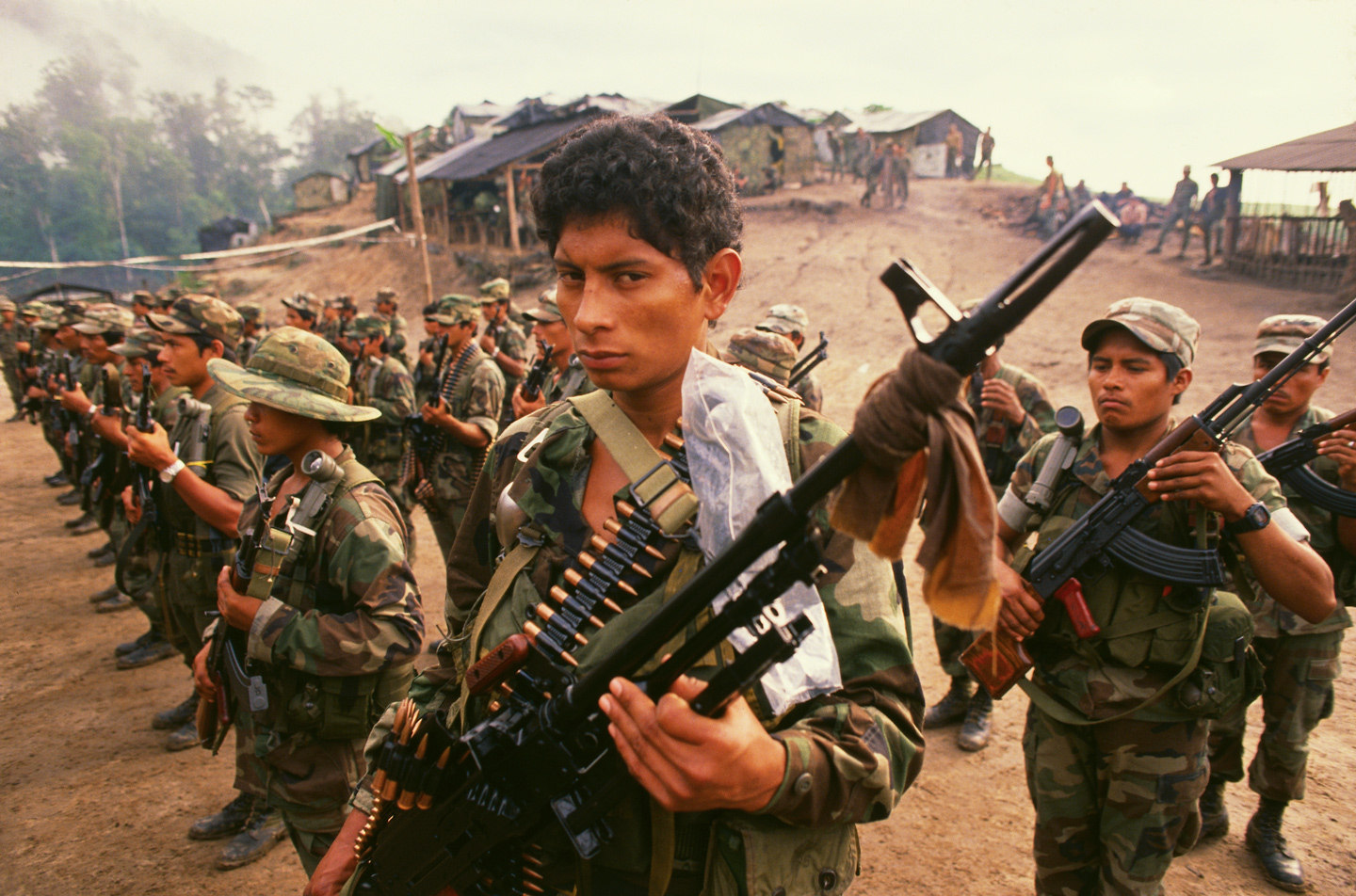 Contra Troops Training in Honduras (Photo by © Bill Gentile/CORBIS/Corbis via Getty Images)
