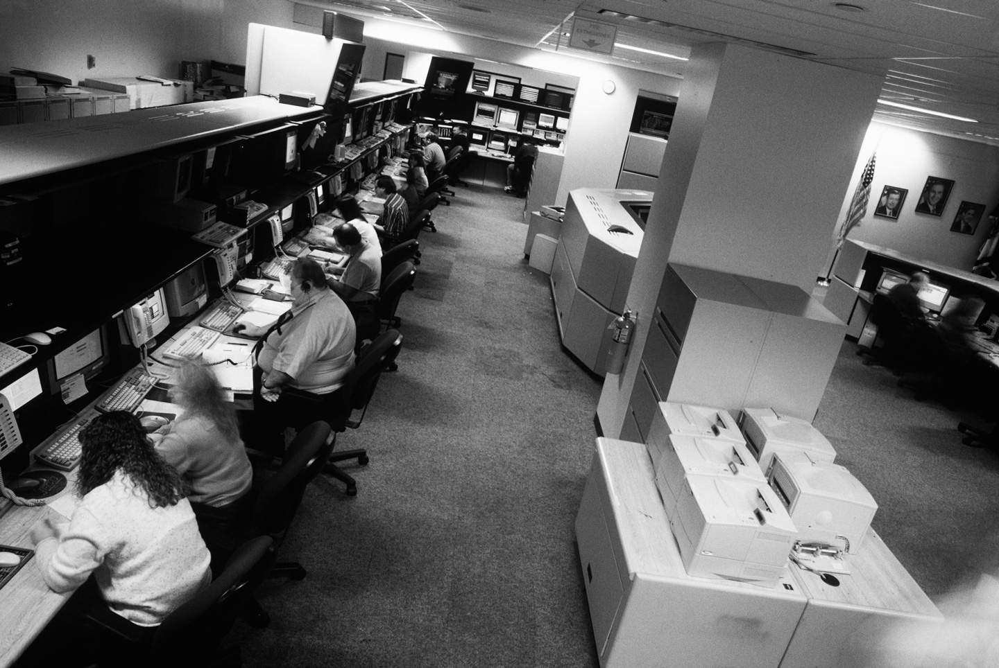 Workers, many from the nearby town of Clarksburg, analyze data to help track criminals. At the FBI's Criminal Justice Information Services Division headquarters, tucked away in the West Virginia hills near Clarksburg, some 3,000 employees quietly fight crime with a sophisticated computer network and access to the largest repository of fingerprints in the world.