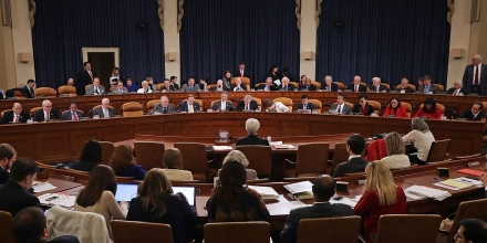 Members of the House Ways and Means Committee hold a markup hearing to begin work on the proposed American Health Care Act, the Republican attempt to repeal and replace Obamacare, in the Longworth House Office Building on Capitol Hill March 8, 2017 in Washington, DC.