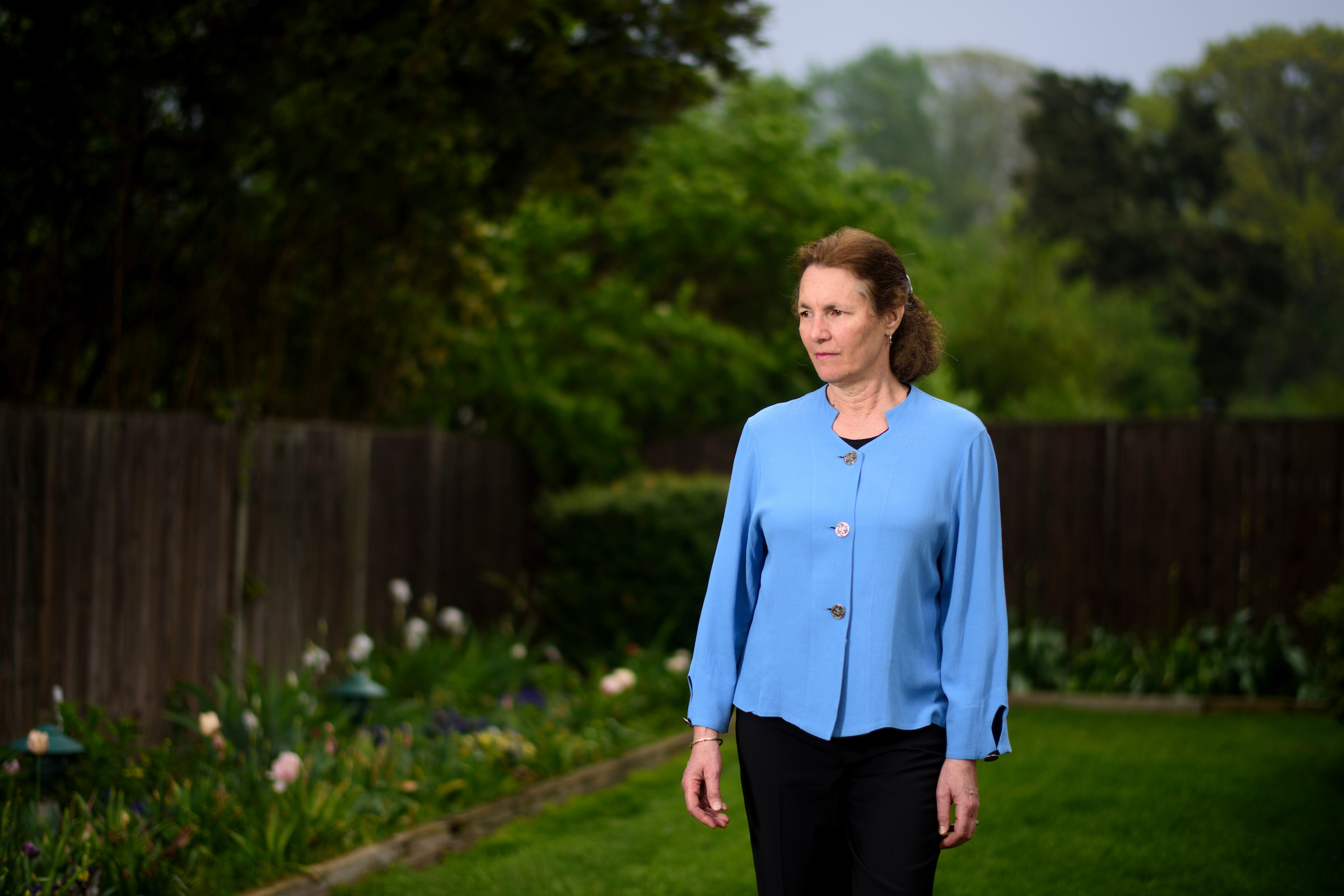 Bethesda, Maryland - April 21, 2017: Melanie Killen is a University of Maryland Professor in the Developmental Science Program, specializing in Human Development and Quantitative Methodology at her home in Bethesda, Md.CREDIT: Matt Roth