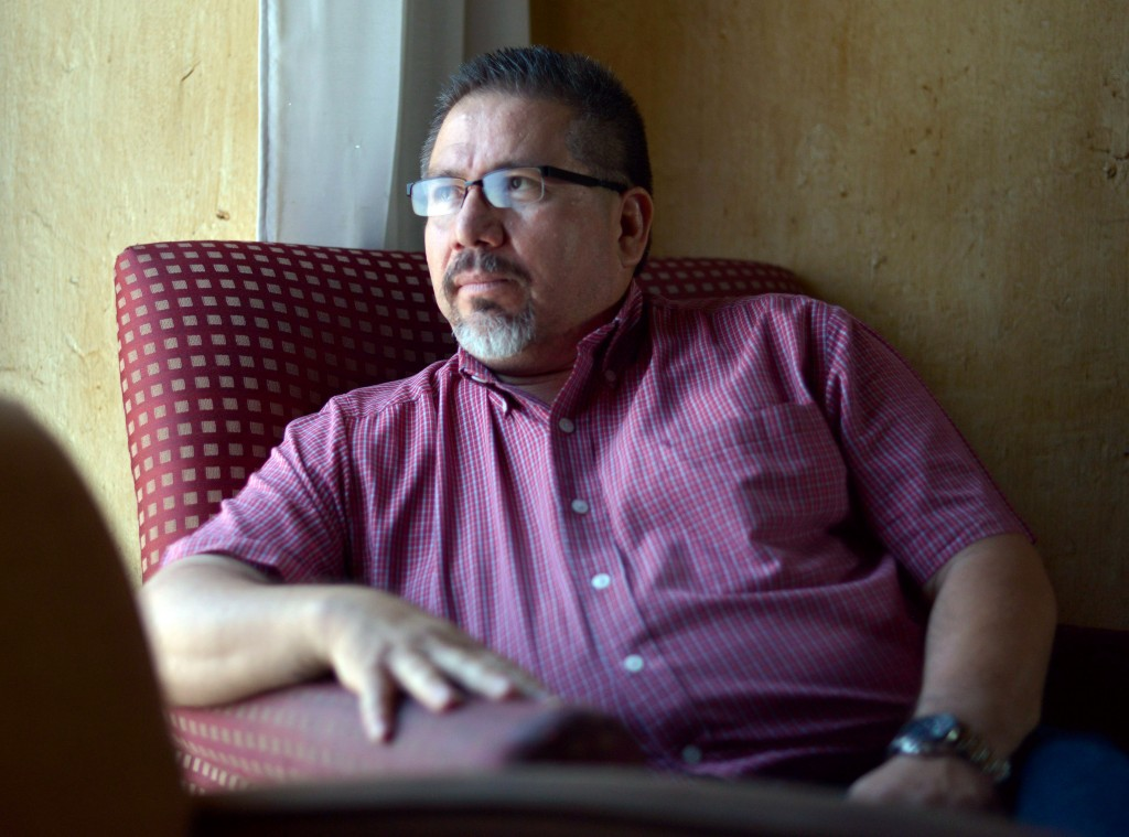 Photo of Mexican award-winning local journalist and Agence France-Presse contributor Javier Valdez, taken on May 23, 2013.<br /> Valdez, who reported on violent drug gangs in Mexico, was shot near the premises of Riodoce, a Mexican news weekly he founded, in his hometown of Culiacan in northwestern Sinaloa state on May 15, 2017.<br />  / AFP PHOTO / FERNANDO BRITO        (Photo credit should read FERNANDO BRITO/AFP/Getty Images)