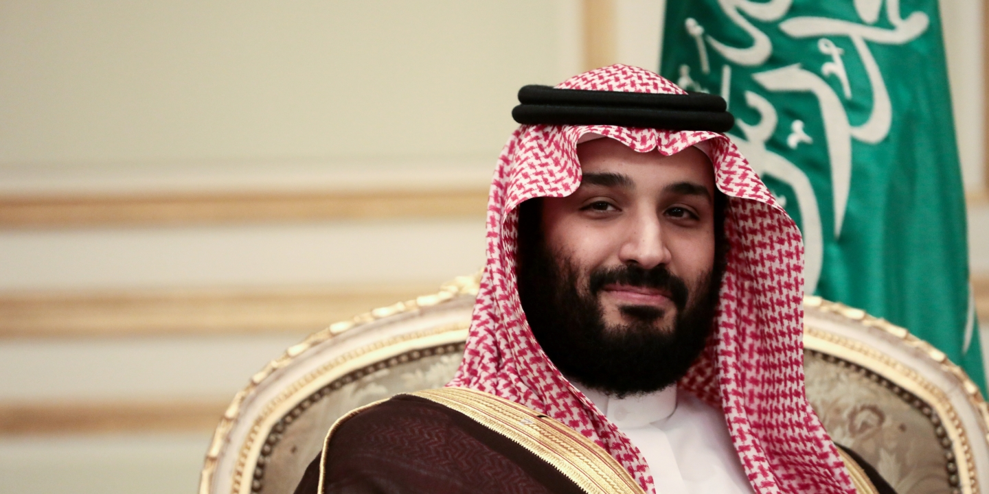 Mohammed bin Salman, Saudi Arabia's deputy crown prince, looks on during a bilateral meeting with U.K. Prime Minister Theresa May at An Nasiriyah Palace in Riyadh, Saudi Arabia, on Tuesday, April 4, 2017.Maybegan a visit to Jordan and Saudi Arabiaon Monday, with the goal of building security and commercial ties. Photographer: Simon Dawson/Bloomberg via Getty Images