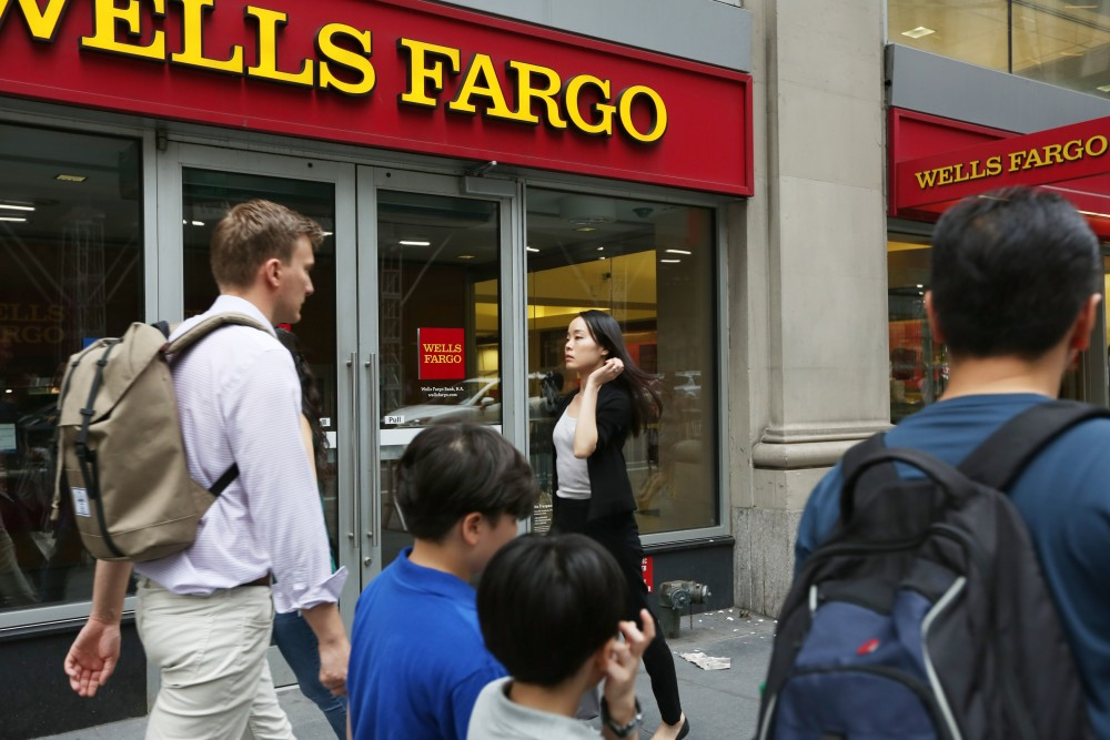 Wells Fargo conducts business as usual
