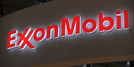 A picture shows the logo of US oil and gas giant ExxonMobil during the World Gas Conference exhibition in Paris on June 2, 2015. AFP PHOTO / ERIC PIERMONT / AFP PHOTO / ERIC PIERMONT        (Photo credit should read ERIC PIERMONT/AFP/Getty Images)