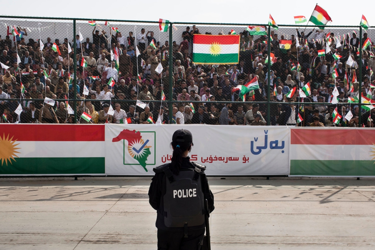 In Iraqi Kurdistan, Voting on Independence and Bracing for Violence