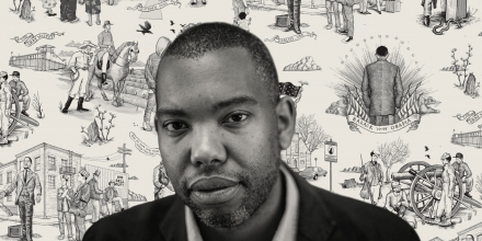 7/16/15, Baltimore, Md. Author Ta-Nehisi Coates in Baltimore City, Md on July 16, 2015. Gabriella Demczuk/ The New York Times