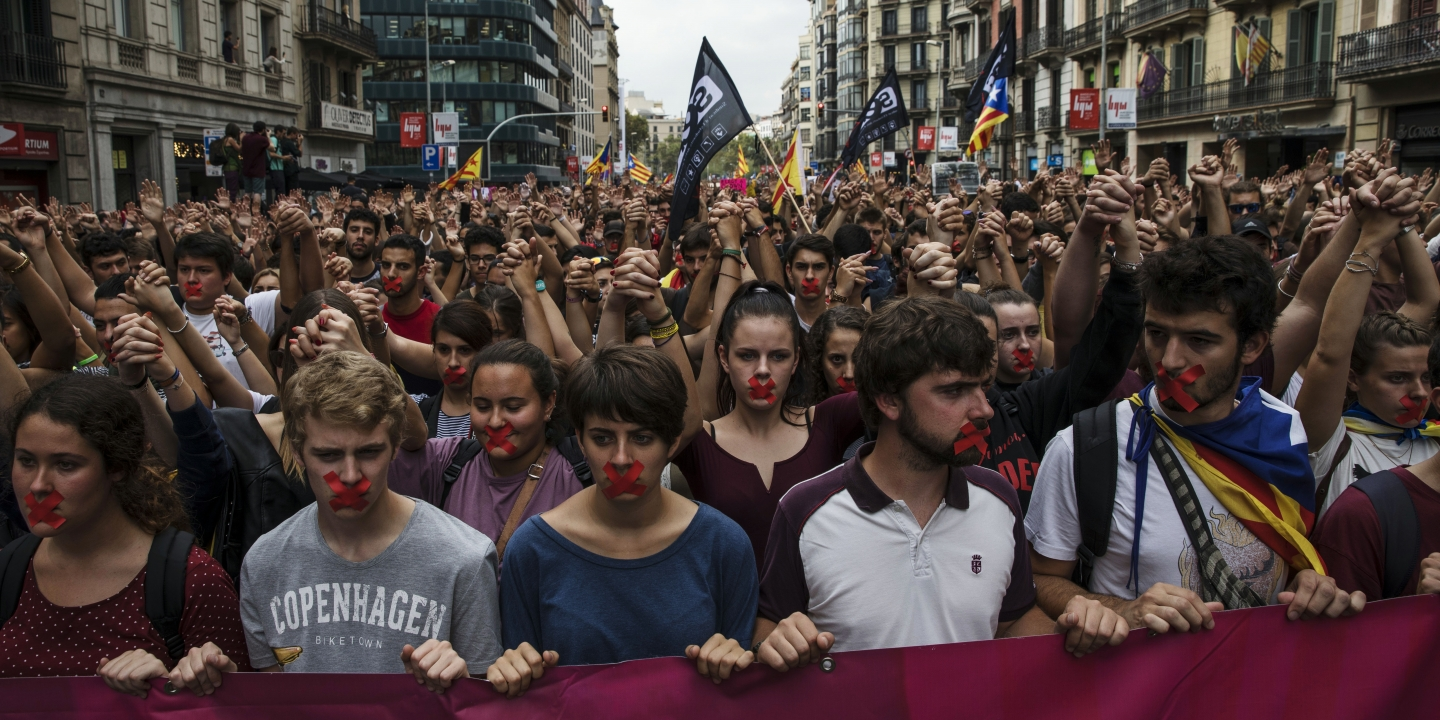 A Mix of Hope, Fear and Anger in Catalonia After Millions