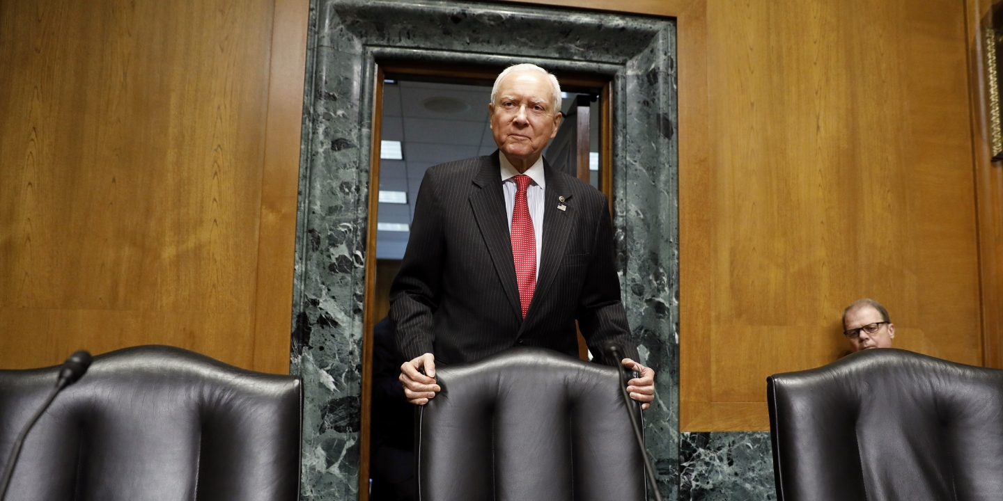 Orrin Hatch unloads in committee meeting