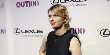 Chelsea Manning attends the 22nd Annual OUT100 Celebration Gala at the Altman Building on Thursday, Nov. 9, 2017, in New York. (Photo by Andy Kropa/Invision/AP)