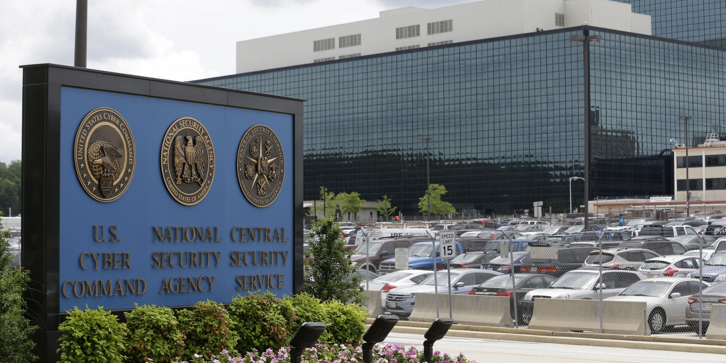FILE - In this June 6, 2013 file photo, the National Security Agency (NSA) campus in Fort Meade, Md. Some U.S. states are reviewing their election systems for signs of intrusion after a leaked NSA report describes a hacking effort by Russian military intelligence. There's no indication so far that potential intrusions affected voting or ballot counting. (AP Photo/Patrick Semansky, File)
