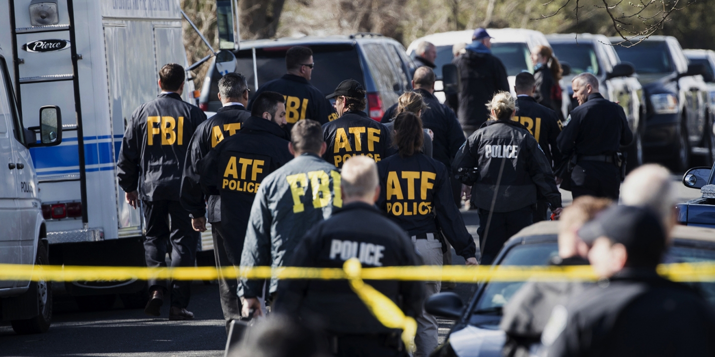 Authorities Work On The Scene Of An Explosion In Austin On Monday March